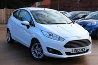 USED 2013 63 FORD FIESTA 1.0 ZETEC 3d 79 BHP * LOW MILEAGE * BLUETOOTH * AIR CON *