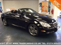 2007 LEXUS SC 430 4.3 V8 AUTO CABRIOLET / CONVERTIBLE £11650.00
