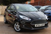 USED 2014 64 FORD FIESTA 1.2 ZETEC 5d 81 BHP **** BLUETOOTH * AIR CON * ONE PREVIOUS OWNER ****