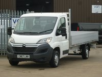 USED 2018 CITROEN RELAY 14' ALLOY BODY DROPSIDE NATIONWIDE DELIVERY AVAILABLE