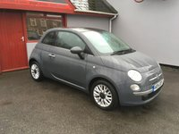 USED 2014 14 FIAT 500 1.2 LOUNGE 3d 69 BHP 2014  500 LOUNGE LOW INS, LOW ROAD TAX,ONLY 37000 MILES