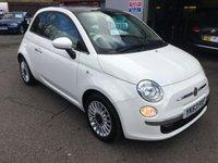 2013 FIAT 500 1.2 LOUNGE 3d 69 BHP £5995.00