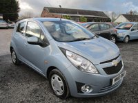 USED 2010 10 CHEVROLET SPARK 1.0 LS 5d 67 BHP LOW TAX EXCELLENT FUEL ECONOMY