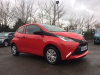 USED 2015 64 TOYOTA AYGO 1.0 VVT-I X 3d ZERO ROAD TAX AND LOW INSURANCE  NO DEPOSIT  PCP/HP FINANCE ARRANGED, APPLY HERE NOW