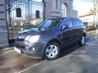 USED 2015 65 VAUXHALL ANTARA 2.2 EXCLUSIV CDTI S/S 5d 161 BHP ****FINANCE ARRANGED***PART EXCHANGE***PART LEATHER***