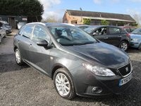 USED 2010 60 SEAT IBIZA 1.6 CR TDI SE 5d 103 BHP EXCELLENT FUEL ECONOMY DIESEL LOW ROAD TAX