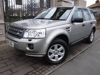 USED 2012 62 LAND ROVER FREELANDER 2.2 TD4 GS 5d 150 BHP *** FINANCE & PART EXCHANGE WELCOME *** AIR/CON CRUISE CONTROL BLUETOOTH PHONE PARKING SENSORS DAB RADIO