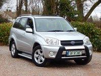 2004 TOYOTA RAV4 2.0 XT3 VVT-I 5d 147 BHP £2870.00