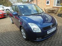 2007 SUZUKI SWIFT 1.5 GLX VVTS 5d 101 BHP £1995.00