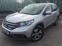 2013 HONDA CR-V 2.2 I-DTEC EX 5d 148 BHP FACELIFT PAN ROOF SAT NAV LEATHER FSH £14290.00
