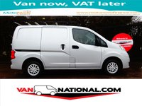 2014 NISSAN NV200 1.5 DCI TEKNA 90 BHP (SAT NAV ONE OWNER AIR CONDITIONING) £6990.00