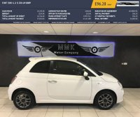 USED 2013 63 FIAT 500 1.2 S 3d 69 BHP Full Service History and 12 Months Mot!! 3 Months Warranty!! £30 Per Year Road Tax!!