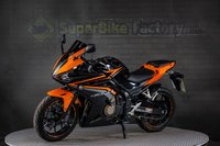 USED 2017 17 HONDA CBR500 500CC 0% DEPOSIT FINANCE AVAILABLE GOOD & BAD CREDIT ACCEPTED, OVER 500+ BIKES IN STOCK