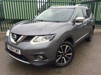 2015 NISSAN X-TRAIL 1.6 DCI TEKNA 5d 130 BHP 5 SEATER PAN ROOF SAT NAV LEATHER ONE OWNER FSH £12990.00