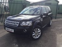 2013 LAND ROVER FREELANDER 2 2.2 TD4 XS 5d 150 BHP FACELIFT SAT NAV LEATHER PRIVACY ONE OWNER FSH £15790.00