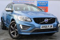 USED 2016 65 VOLVO XC60 2.0 D4 R-DESIGN NAV 5d AUTO Stunning in Blue Low Mileage ONE REGISTERED KEEPER