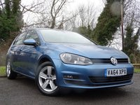 USED 2015 VOLKSWAGEN GOLF 1.6 MATCH TDI BLUEMOTION TECHNOLOGY DSG 5d AUTO  **AUTOMATIC DIESEL**ECONOMICAL**