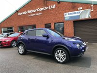USED 2014 64 NISSAN JUKE 1.5 ACENTA PREMIUM DCI 5d 110 BHP Full service history,   Cloth upholstery,     Bluetooth,     Satellite Navigation,     Reversing camera