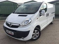 2013 VAUXHALL VIVARO 2.0 2900 CDTI SPORTIVE LWB 1d 113 BHP AIR CON ALLOYS COLOUR CODED TRIMS ONE OWNER £7700.00