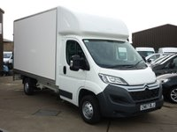USED 2018 67 CITROEN RELAY 2.2 130 BHP LUTON BODY WITH TAIL LIFT NATIONWIDE DELIVERY AVAILABLE