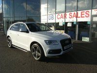 USED 2016 03 AUDI Q5 2.0 TDI QUATTRO S LINE PLUS 5d AUTO 187 BHP £0 DEPOSIT, DRIVE AWAY TODAY!!