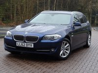 2012 BMW 5 SERIES 2.0 520D SE TOURING 5d AUTO 181 BHP £10333.00