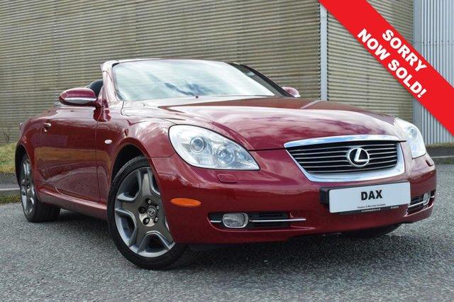 2007 56 LEXUS SC 4.3 430 2d AUTO 282 BHP