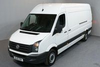 USED 2015 15 VOLKSWAGEN CRAFTER 2.0 CR35 TDI H/R P/V 5d 135 BHP HR LWB CRUISE CONTROL BLUETOOTH ONE OWNER FROM NEW