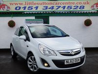 USED 2012 62 VAUXHALL CORSA 1.0 ACTIVE AC ECOFLEX 3d 64 BHP 2 OWNERS, FULL HISTORY, APPLY FOR FINANCE TODAY