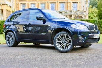 2013 BMW X5 3.0 XDRIVE30D M SPORT 5d AUTO 241 BHP £18990.00