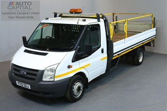 2012 FORD TRANSIT 2.4 350 E/F DRW 2d 115 BHP LWB REAR TAIL LIFT FITTED REVERSE CAMERA £6990.00
