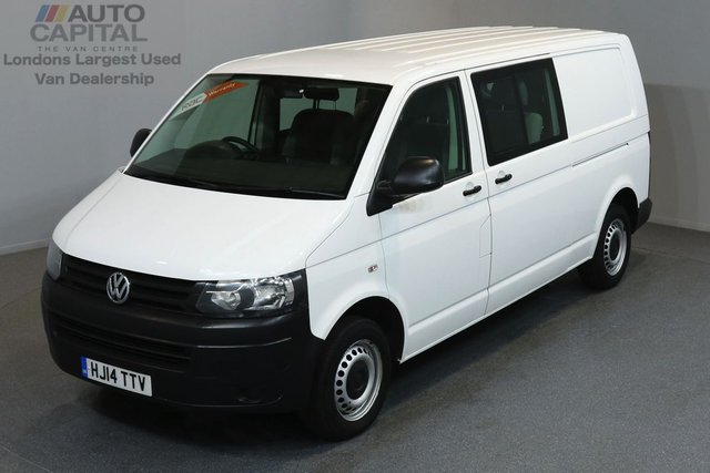 2014 14 VOLKSWAGEN TRANSPORTER 2.0 T32 TDI STARTLINE 102 BHP LWB 6 SEATER COMBI VAN ONE OWNER FROM NEW