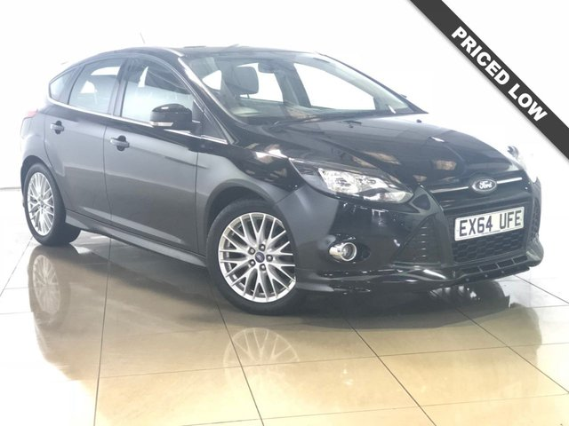 View our 2014 64 FORD FOCUS 1.6 ZETEC S TDCI 5d 113 BHP