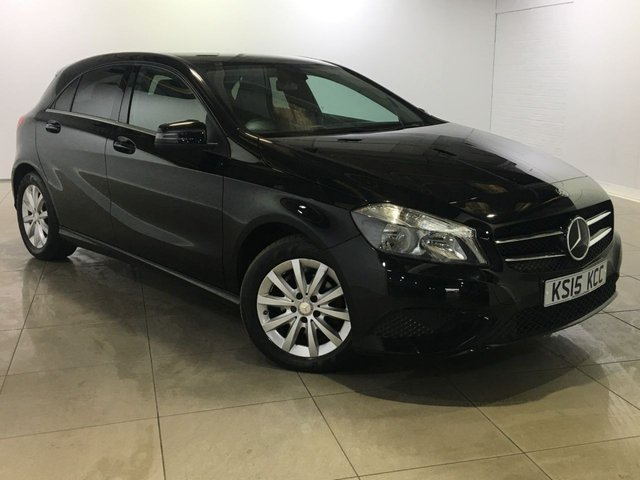View our 2015 15 MERCEDES-BENZ A CLASS 1.5 A180 CDI BLUEEFFICIENCY SE 5d AUTO 109 BHP
