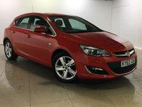 USED 2013 63 VAUXHALL ASTRA 1.7 SRI CDTI ECOFLEX S/S 5d 130 BHP Great Car