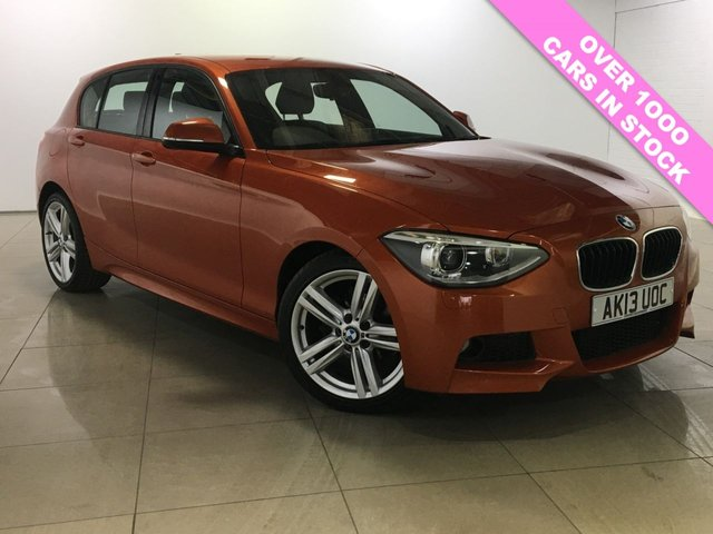 View our 2013 13 BMW 1 SERIES 2.0 116D M SPORT 5d 114 BHP