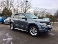USED 2008 08 SUZUKI GRAND VITARA 2.0 X-EC 5d AUTOMATIC WITH  A NEW MOT AND SERVICE HISTORY  PART EXCHANGE TO CLEAR