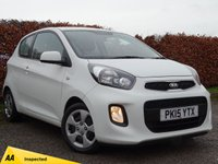 USED 2015 15 KIA PICANTO 1.0 1 3d * ONE OWNER FROM NEW * £0.00 A YEAR ROAD TAX *