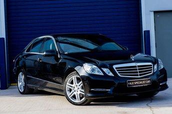 2012 MERCEDES-BENZ E CLASS E220 CDI BLUEEFFICIENCY S/S SPORT AUTO (SAT NAV) £12995.00