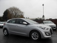 USED 2014 63 HYUNDAI I30 1.6 CRDI ACTIVE BLUE DRIVE 5d  WITH ALLOYS AND AIRCON  NO DEPOSIT  FINANCE ARRANGED, APPLY HERE NOW