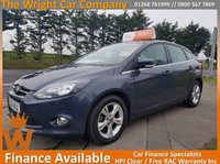 USED 2012 61 FORD FOCUS 1.6 ZETEC 5d AUTO 124 BHP AUTOMATIC ! GREAT LOOKING EXAMPLE