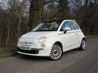 2009 FIAT 500C 1.2 C LOUNGE 3d 69 BHP £4150.00