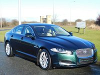 USED 2013 13 JAGUAR XF 3.0 D V6 PREMIUM LUXURY 4d AUTO 240 BHP SAT NAV, REAR CAMERA, DAB