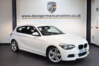 2014 BMW 1 SERIES 2.0 125D M SPORT 3DR 215 BHP £11770.00