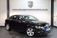 USED 2014 64 AUDI A3 1.6 TDI SPORT 4DR AUTO 109 BHP + EXCELLENT SERVICE HISTORY + 1 OWNER FROM NEW + SATELLITE NAVIGATION + BLUETOOTH + DAB RADIO + SPORT SEATS + HEATED MIRRORS + 17 INCH ALLOY WHEELS +
