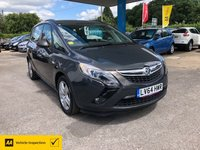 USED 2014 64 VAUXHALL ZAFIRA TOURER 2.0 EXCLUSIV CDTI 5d 128 BHP NEED FINANCE? WE STRIVE FOR 94% ACCEPTANCE