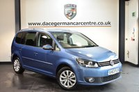 USED 2014 63 VOLKSWAGEN TOURAN 2.0 SPORT TDI BLUEMOTION TECHNOLOGY 5DR 138 BHP + + FULL VW SERVICE HISTORY + 1 OWNER FROM NEW + SATELLITE NAVIGATION + BLUETOOTH + HEATED SPORT SEATS + CRUISE CONTROL + HEATED MIRRORS + RAIN SENSORS + PARKING SENSORS + 16 INCH ALLOY WHEELS +