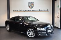 USED 2011 11 AUDI A5 2.7 TDI S LINE BLACK EDITION 2DR AUTO 187 BHP + FULL BLACK LEATHER INTERIOR + FULL AUDI SERVICE HISTORY + SATELLITE NAVIGATION + BLUETOOTH + HEATED SPORT SEATS + DAB RADIO + BANG AND OLUFSEN SPEAKERS + CRUISE CONTROL + HEATED MIRRORS + PARKING SENSORS + 18 INCH ALLOY WHEELS +