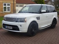 2011 LAND ROVER RANGE ROVER SPORT 3.0 SDV6 AUTOBIOGRAPHY SPORT 5d AUTO 255 BHP £26000.00