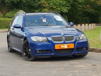 USED 2007 07 BMW 3 SERIES 3.0 335D M SPORT TOURING 5d AUTO 282 BHP FSH HUGE SPEC LE MANS BLUE